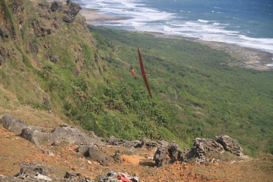 Amazing slope needs to have amazing pilot to explore it