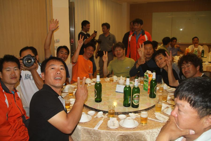 Cheers! the Korean friends