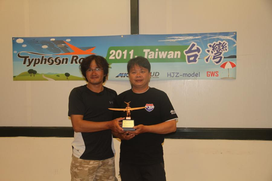 Second runner up prize to Tseng Kuo Tung