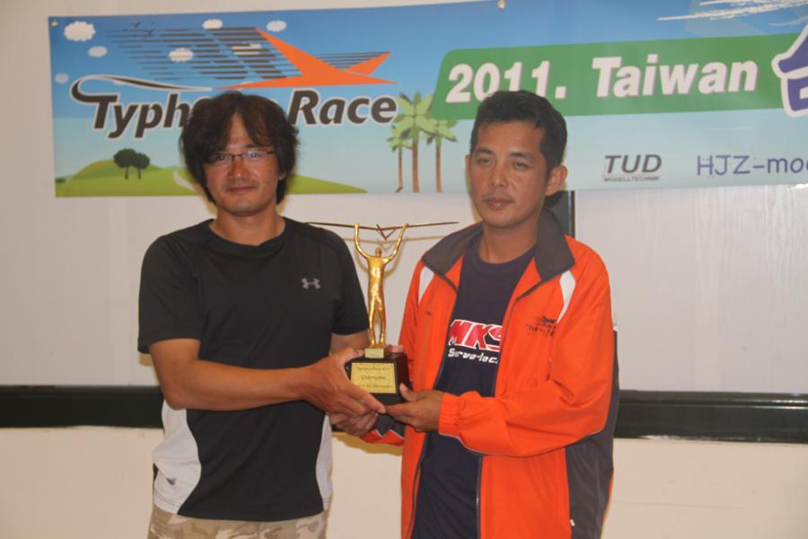 Champion is Lin Kuo Ping