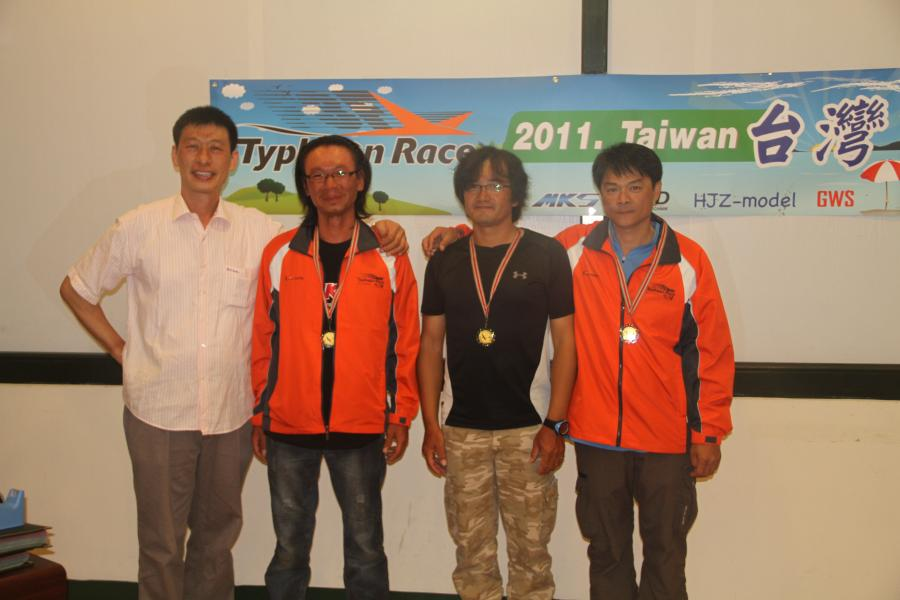 Champion prize for the team award goes to Taiwan A team